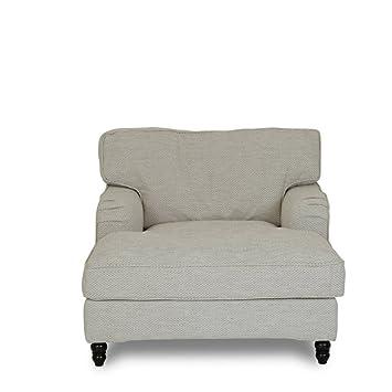 Homy Love Seat Estructura plástico Beige Soporte Madera ...