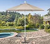 Tropishade 631W59 Commercial 9 ft. Patio Umbrella Is Perfect for Cafes Restaurants For Sale