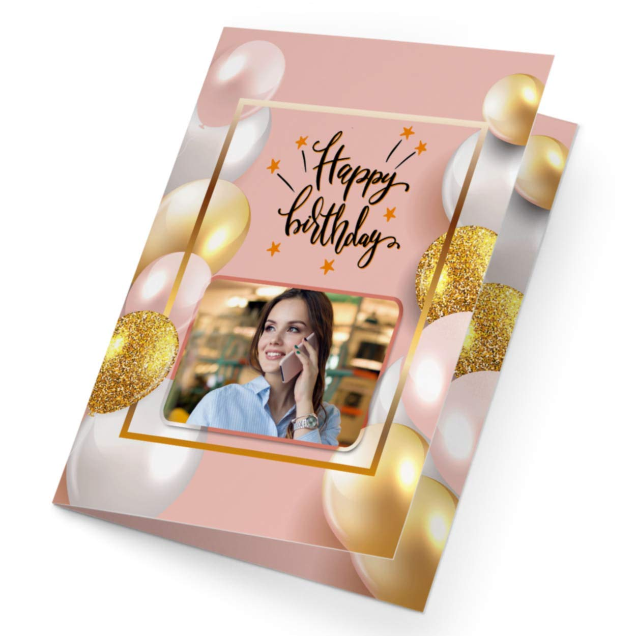 GrabChoice   Personalized Birthday Greeting Card   30 Photo   Gift ...