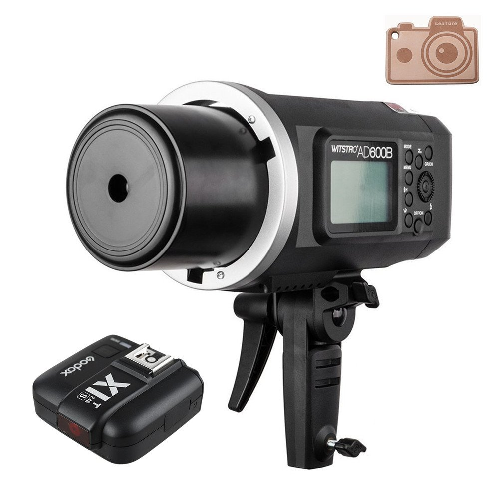 Godox Wistro AD600B TTL All-in-One Powerful Outdoor Flash with 2.4G X System Build-in 8700mAh Li-on Battery with X1T-S Trigger for Sony DSLR Cameras (AD600B+X1T-S)
