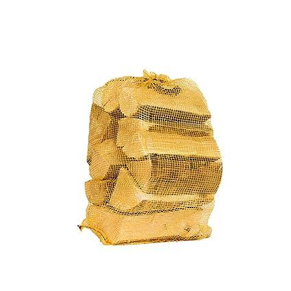CENIZA secado al horno madera troncos 10kg neto. -18% de humedad-leña