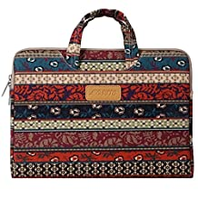 Mosiso Bohemian Mystic Forest Canvas Fabric 11-11.6 Inch Carry Case for Acer Chromebook 11, C720, C720P, C740 / HP Stream 11 / Samsung Chromebook 2 / Notebook Computer / MacBook Air
