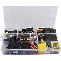 240 piezas conectores eléctricos impermeables para coche 1/2/3/4/5/6