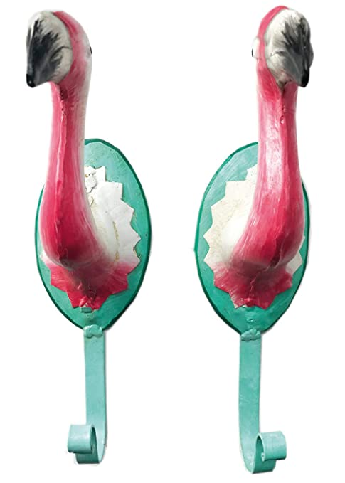 Pape de Comercios 2 Ganchos de Pared Flamingo Color Rosa ...
