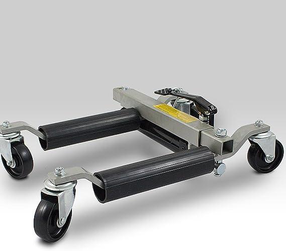 Ms Point Bituxx 4 Stück Pkw Rangierhilfe Rangierheber Hydraulisch Wagenheber Auto Rangierroller Rangierheber Belastbar Bis 680 Kg Pro Rangierroller Auto