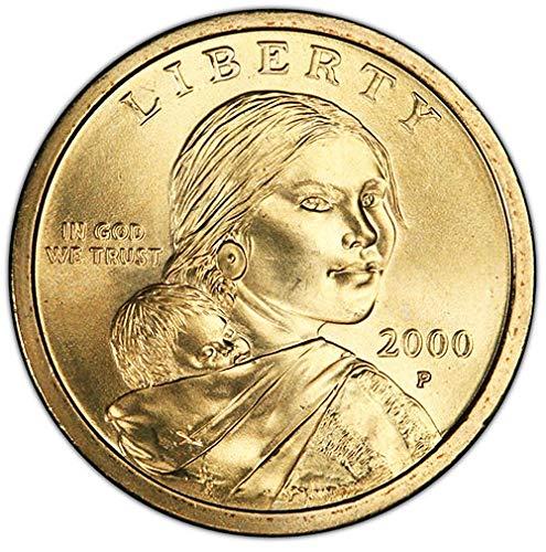 BU 2007 Sacagawea P/&D Dollars Uncirculated