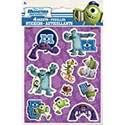 Monsters University Inc. Stickers (4 sheets)