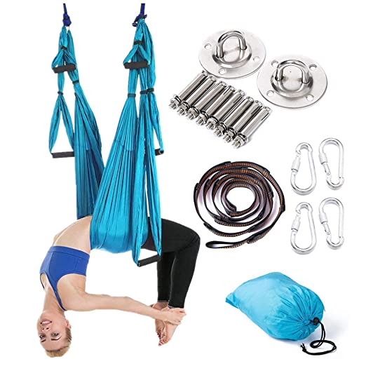 YUSDP Conjunto de Columpio de Yoga aéreo multifunción - con ...