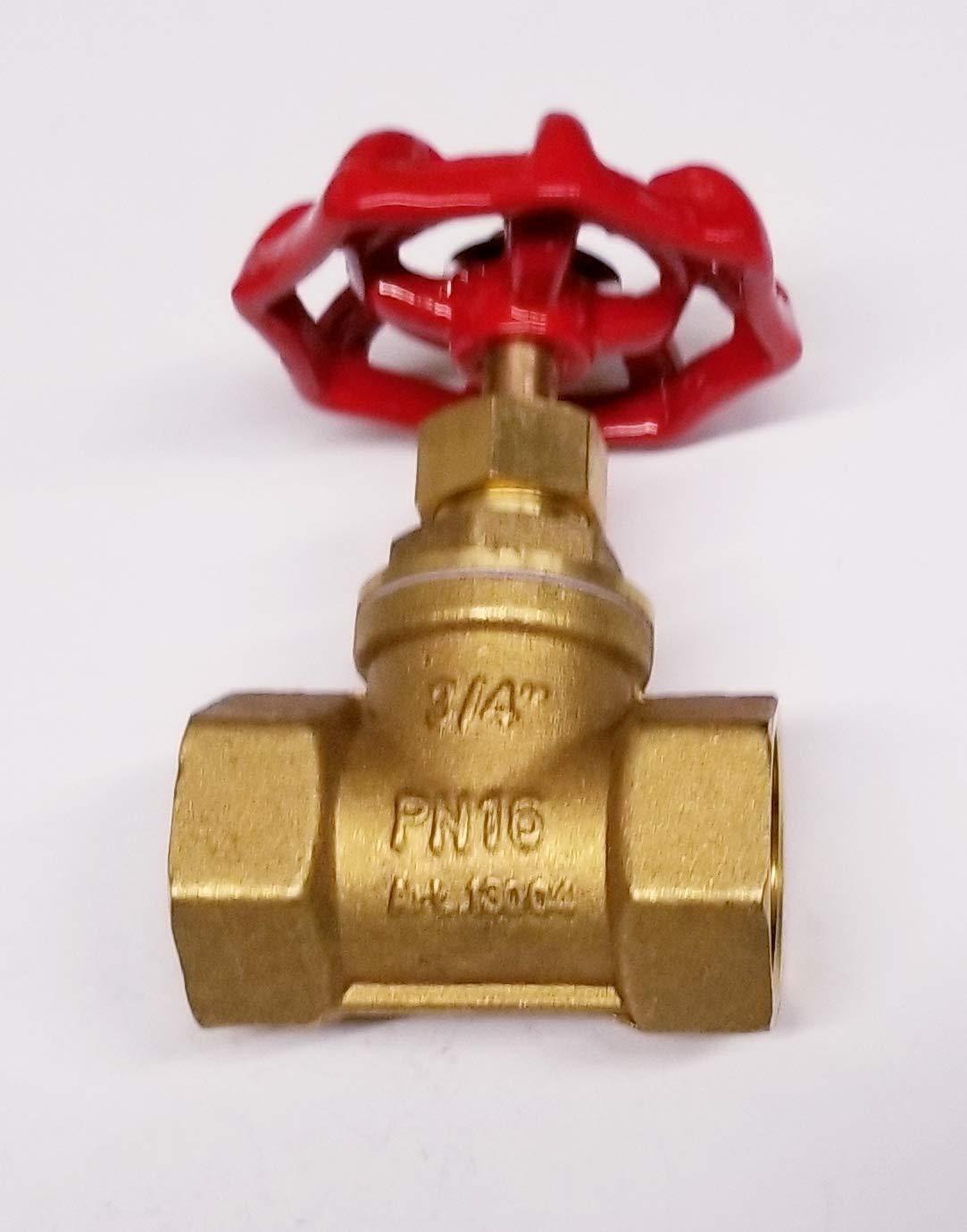 TIB Brass Globe Valve 3/4''npt Female Fnpt Class 150 by TIB (Image #2)