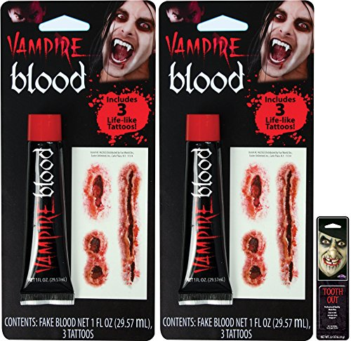 Potomac Banks Blood and Tattoos (Pack of 2) with Free Pack of -