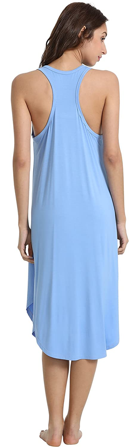 GYS Womens Racerback Bamboo Nightgown 784