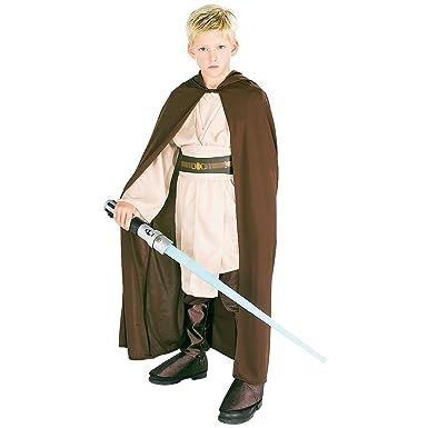 Amazon.com: star wars clásico disfraz con capucha JEDI para ...