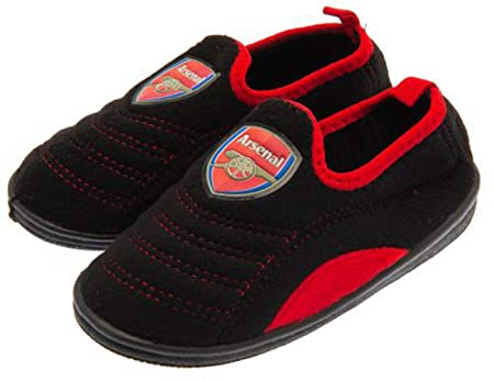 ea51f4ae17d Image Unavailable. Image not available for. Colour  AFC Arsenal FC Junior  Slippers (UK Shoe Size 3-4)