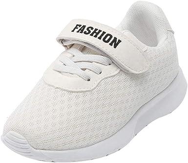 YanHoo Zapatos para niños Carta Deporte Correr Malla Transpirable Zapatillas Casual Zapatos Niños Estudiantes Malla Letras Transpirable Zapatillas Deportivas Zapatillas Casuales Malla Zapatos: Amazon.es: Ropa y accesorios