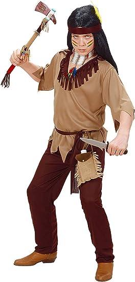 WIDMANN Widman - Disfraz de indio del oeste para niño, talla 5-7 ...