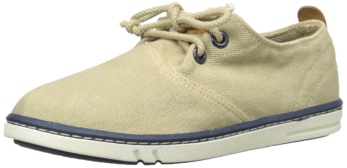 Timberland Handcrafted Flat (Little Kid), Beige - Tan Light Brown, 1.5 M UK Child