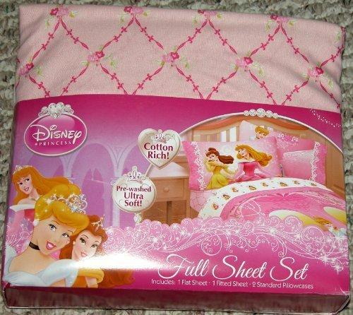 Disney Princess Welcome Castle Sheet Set - Full
