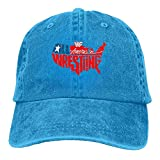 FBGVFD USA Wrestling Logo Baseball Caps Graphic Available Cool Hat Designs for Teen Girls