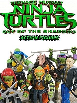 Teenage Mutant Ninja Turtles 2 Toys Out Of The Shadows Tmnt Movie