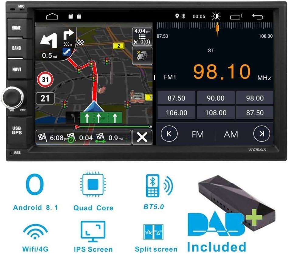 Vicmax Android 8 1 Doppel Din Autoradio Audio 17 8 Cm Elektronik
