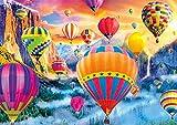 Buffalo Games - Vivid Collection - Balloon Valley - 300 Large Piece Jigsaw Puzzle
