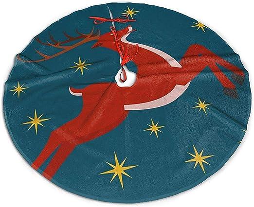 GWrix Christmas Tree Skirt,Base Arbol Navidad,Navidad Falda del ...