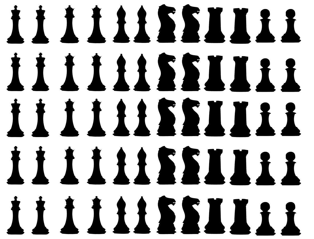 Removable Wallpaper Envelope Sealers Window Decals Gift Favor Stickers Chess Wall Art 60 Chess Stickers Chess Figures Party Stickers