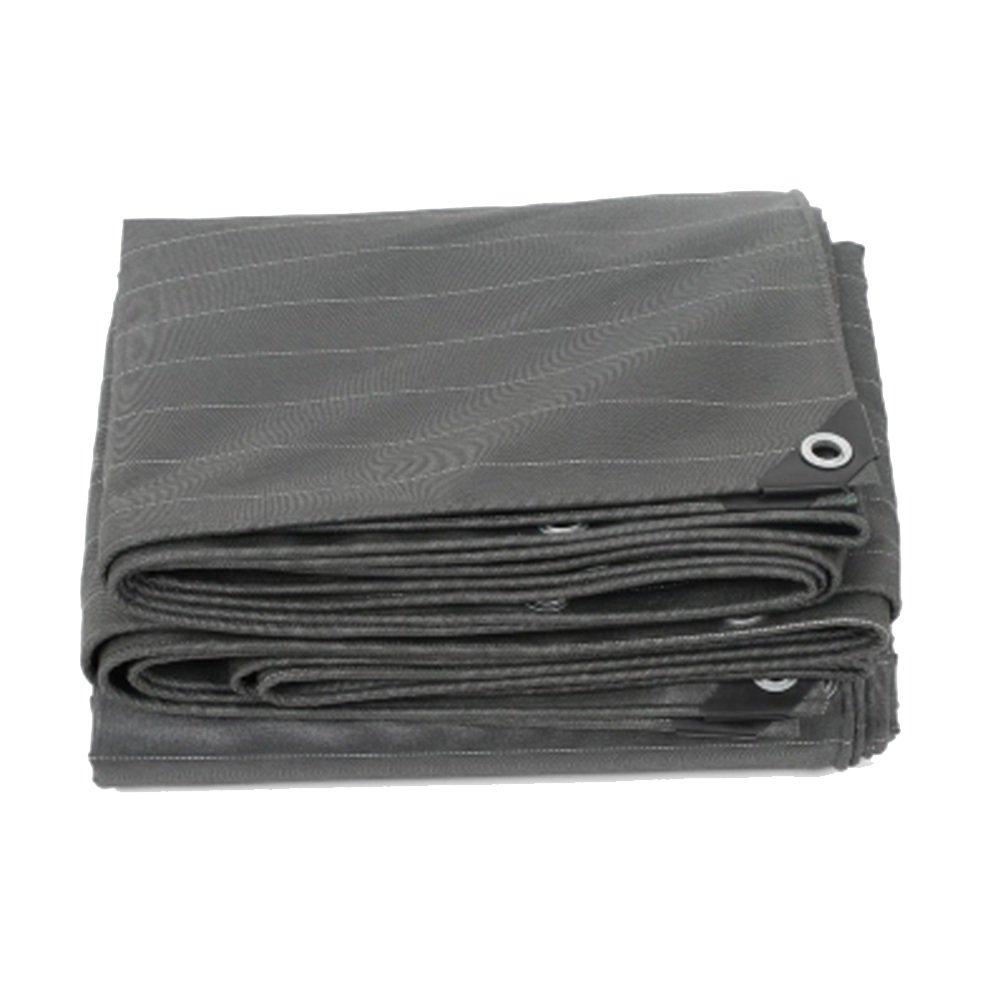 CAOYU Plane, Freien im Freien Plane, regendichtes Sonnenschutzzelt Tuch doppelseitige feuchtigkeitsdichte Fracht staubdicht Tuch Plane Reißfestigkeit Hochtemperatur-Anti-Aging e83831