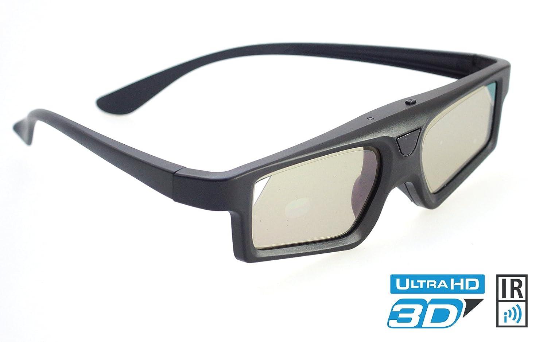 Infrarrojos 3d gafas para dispositivos Philips TV 1x Black Light ...