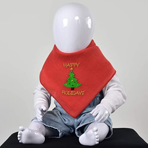 Handmade Burp Cloths Christmas Designs