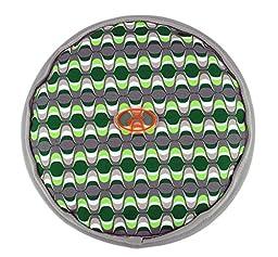 OllyDog OllyFlyer Flying Disc, Large, Green Mod