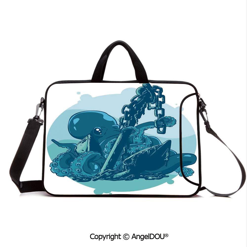 f73e13009eab Amazon.com: AngelDOU Laptop Shoulder Bag Waterproof Neoprene ...