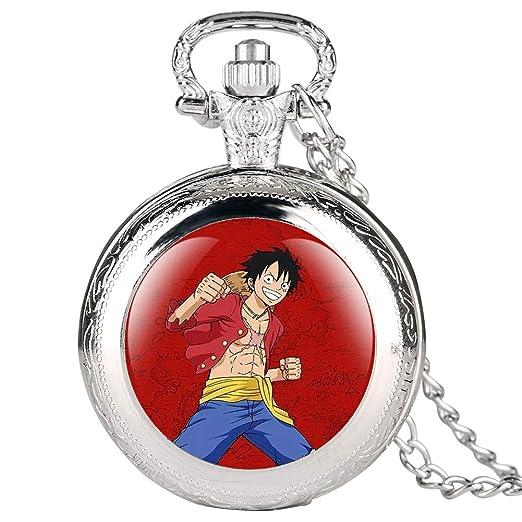 Reloj de Bolsillo Plateado para niños, diseño de Personajes de Dibujos Animados para Estudiantes, Reloj de Bolsillo Digital árabe para Adolescentes: ...