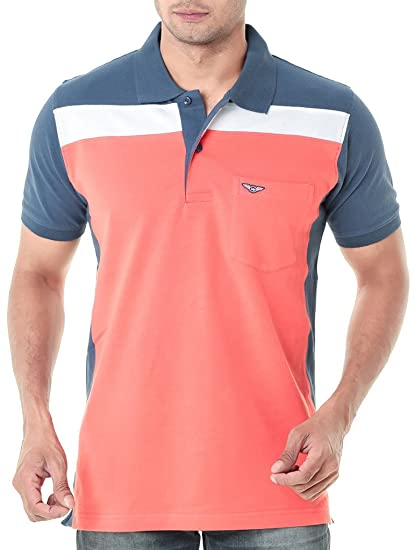 f6b9bcfb741 Wexford Men s Cotton Polo (Wex-Wfs034A)  Amazon.in  Clothing ...