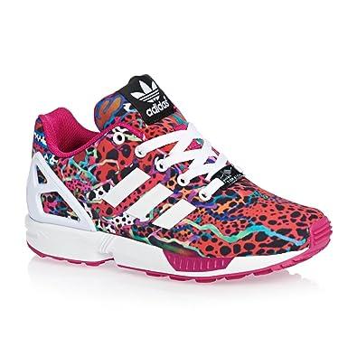 e07e74284180e adidas ZX Flux K – Schuhe Mädchen, Mehrfarbig - Bunt - Größe: 31.5 ...