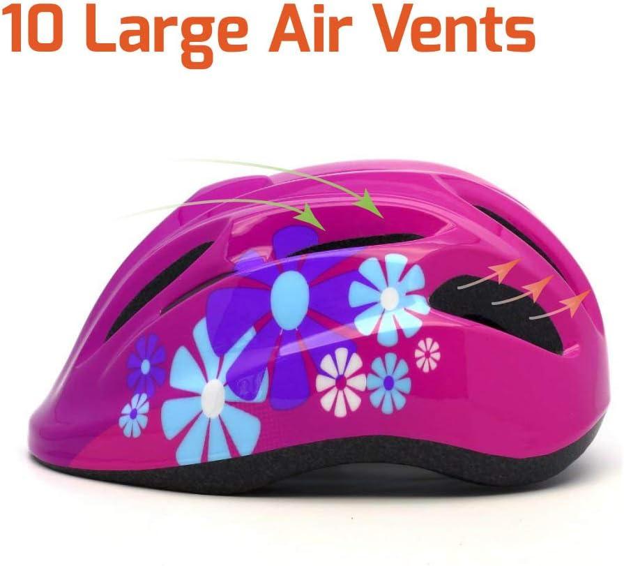 M Merkapa Kids Bike Helmet Adjustable 3D Shark Bicycle Helmets for Toddler and Youth