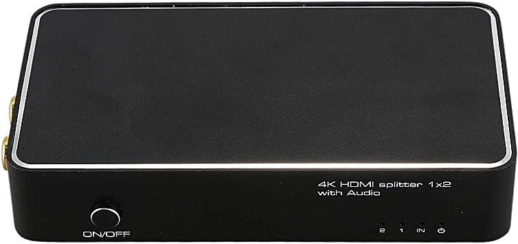 Nrpfell Caja de Interruptores HDMI una HDMI 4K 30Hz Convertidor de ...
