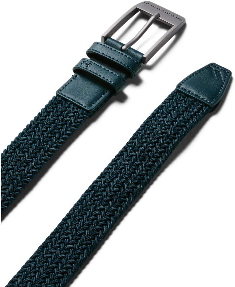 Under Armour Mens Braided 2.0 Belt Cintura Uomo