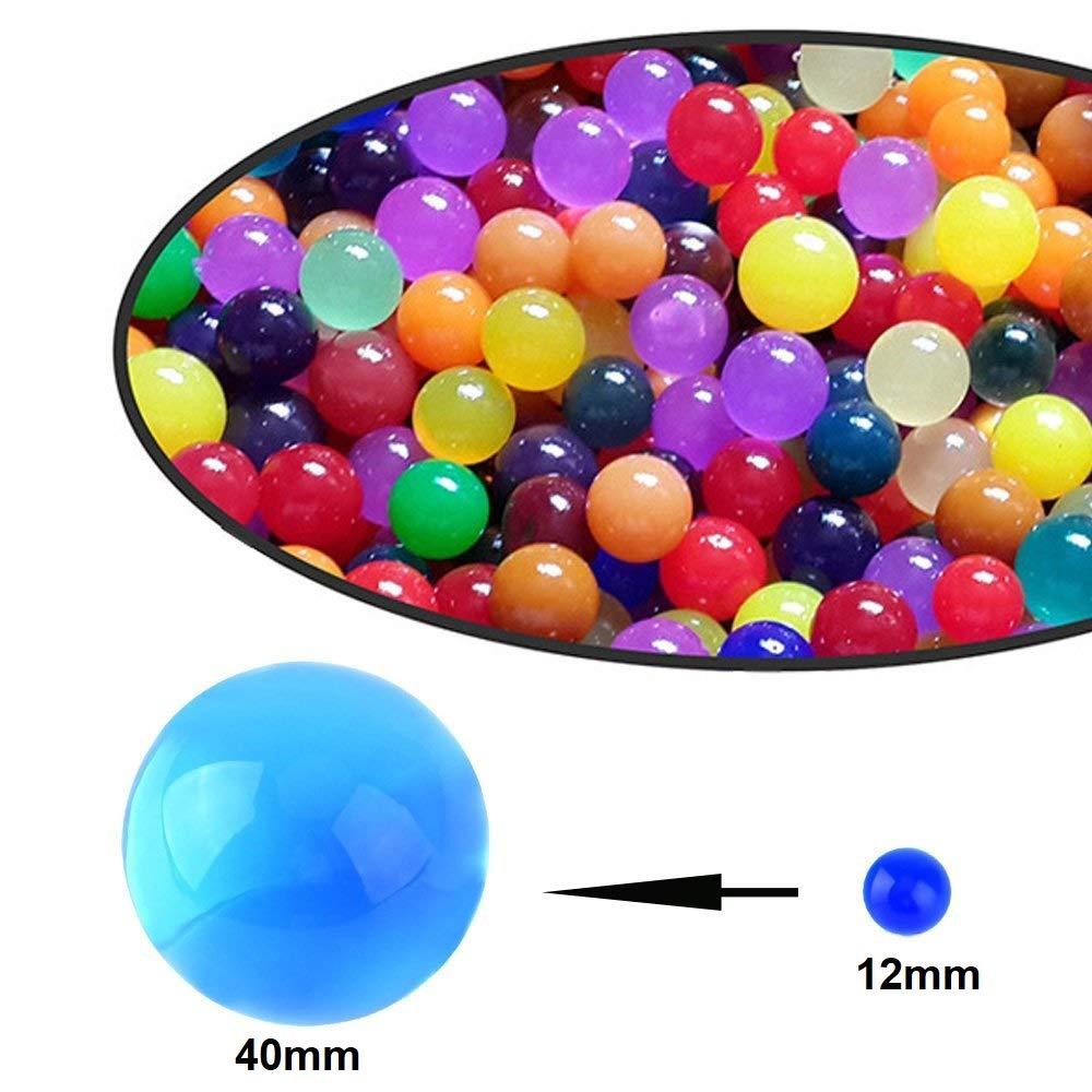 10000 Orbeez eau Extensible Perles Boules Magic sol AQUA vase Recharge Spa Ball UK Décoration intérieure