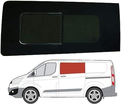 Mano izquierda ventana abatible para puerta corredera, tintado oscuro Ford Transit Custom (2013 On): Amazon.es: Coche y moto