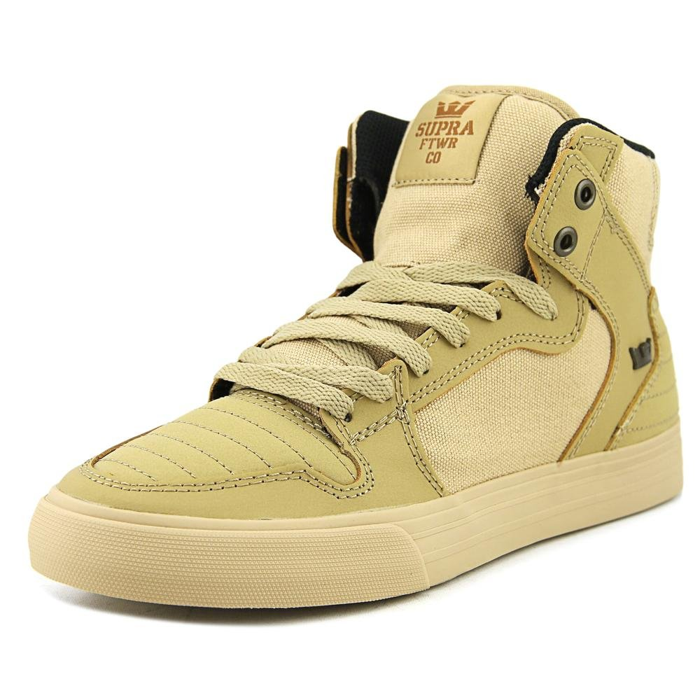 SUPRA(スープラ) VAIDER B06XYCHFZJ 8.5 Women / 7 Men M US|Khaki/Gum Khaki/Gum 8.5 Women / 7 Men M US