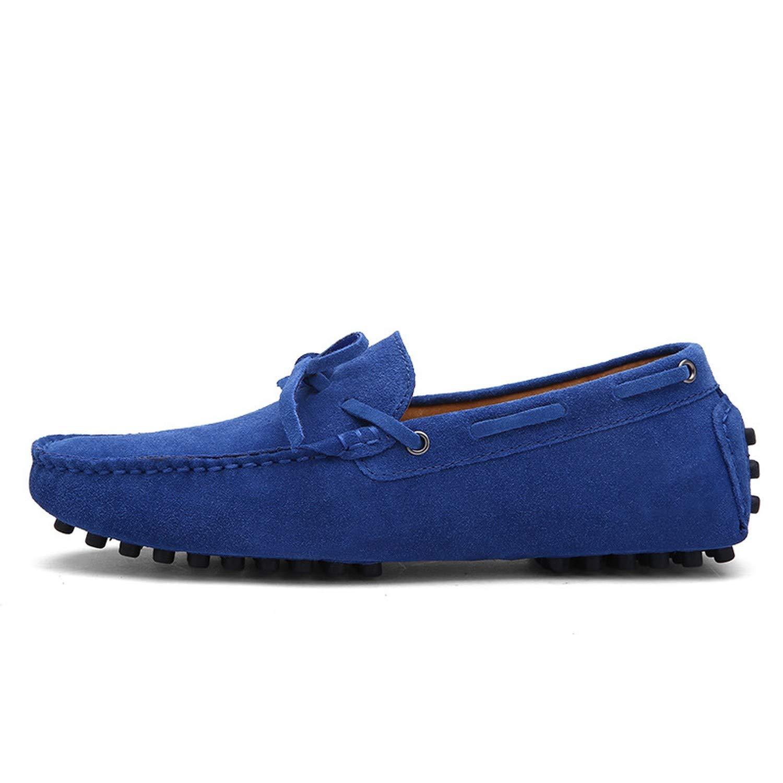 Amazon.com | Autumn Men Loafers Moccasin Homme Casual Split Leather Shoes Moccasins Slip On Men Shoes Mocasines | Loafers & Slip-Ons