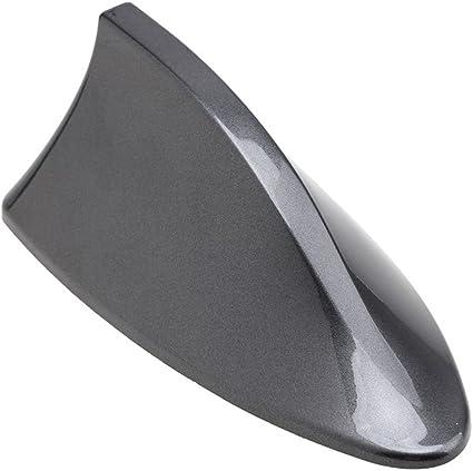 SHARK aleta de tiburón-Antena universal de coche AM radio FM limpieza gris