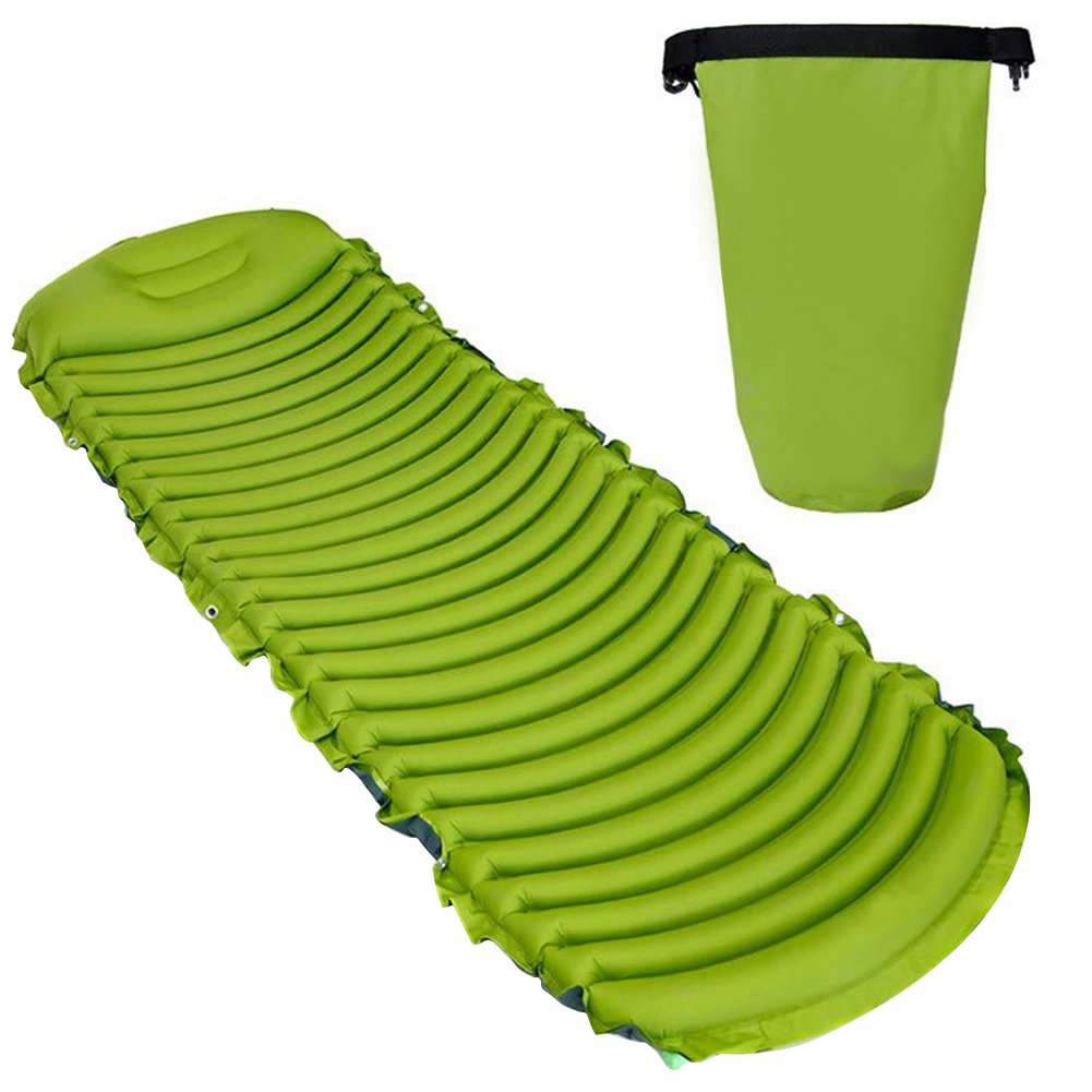Prom-near Premium Luftbett im Freien Umweltfreundliches aufblasbares Bett-Fahrzeug-Auto-selbstfahrende Ausflug-Zelt-aufblasbare Feuchtigkeits-Beweis-Matratze U-förmige Massage-Schlafenauflage