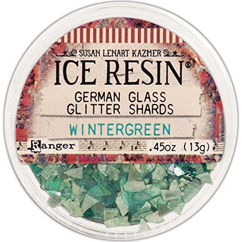 ICE Resin® Wintergreen Glass Glitter Shards