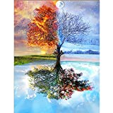 DIY 5D Diamond Painting by Number Kits, Full