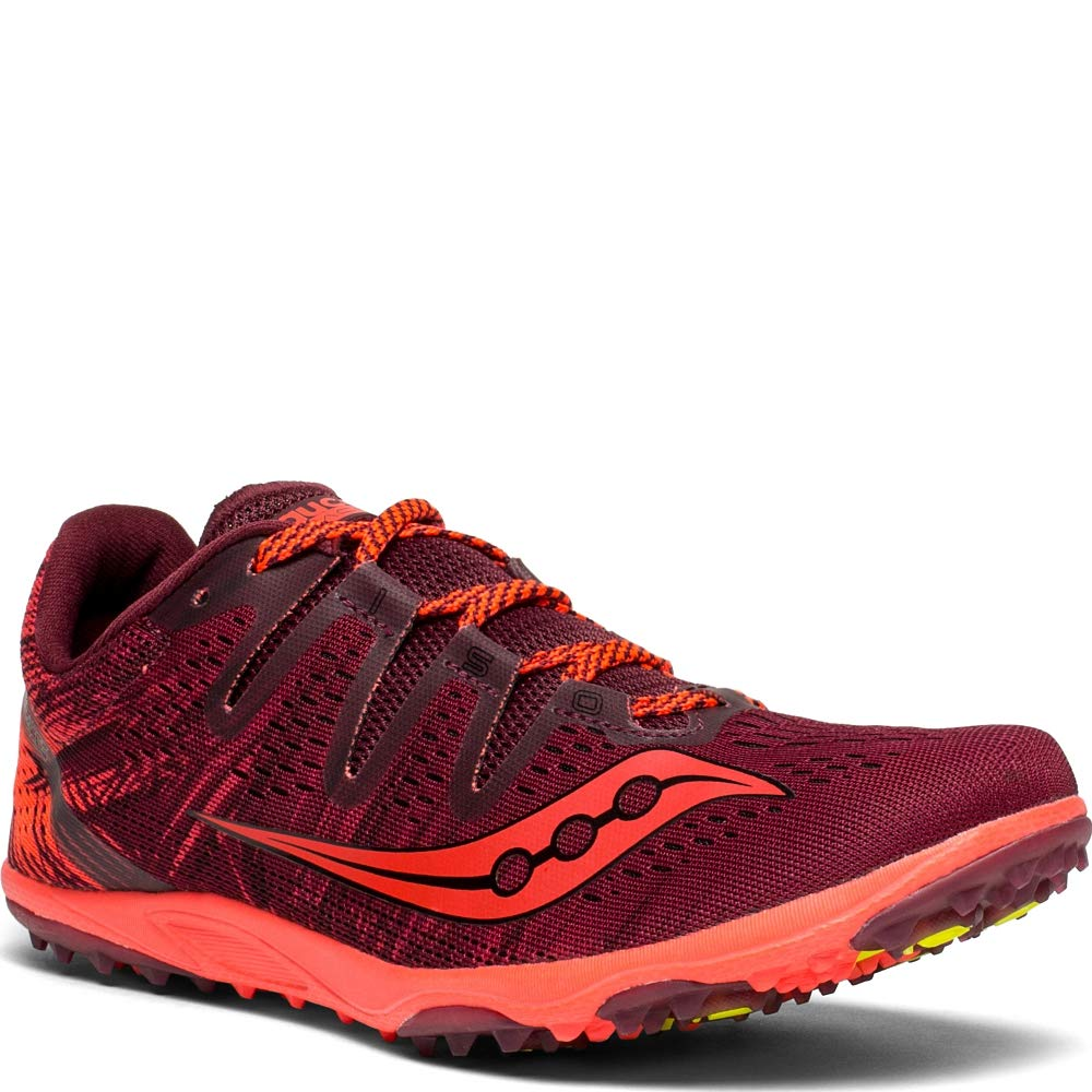 Saucony Women's Carrera XC 3 Flat Track Shoe Berry/Vizi red 8.5 M US by Saucony (Image #5)