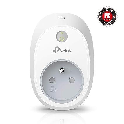 TP-Link HS100 - Enchufe Inteligente para Controlar Sus Dispositivos Desde Cualquier Lugar, sin Necesidad de Concentrador, Funciona con Amazon Alexa y ...
