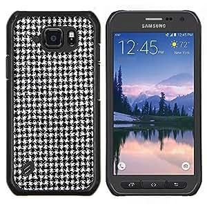 Be-Star Único Patrón Plástico Duro Fundas Cover Cubre Hard Case Cover Para Samsung Galaxy S6 active / SM-G890 (NOT S6) ( Motif Classical Fashion Tissu )