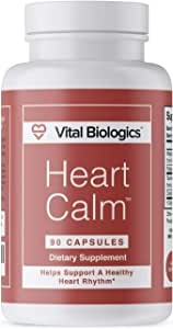 Heart Calm- Support and Maintain a Healthy Heart Rhythm- A Natural, Fast-Acting Formula with Magnesium Taurate, Glycinate, Malate and More. 90 Capsules.